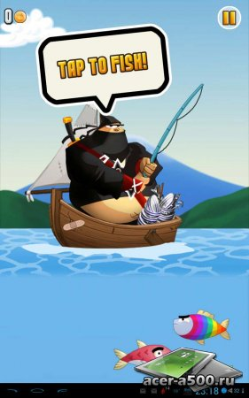 Ninja Fishing версия 1.1.1