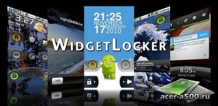 Экран блокировки в стиле Android 4.0 Ice Cream Sandwich с помощью Widgetlocker Lockscreen
