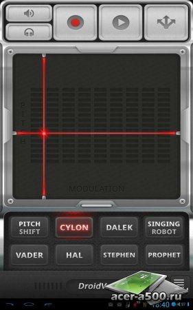 DroidVox - Voice Changer версия 1.0.7