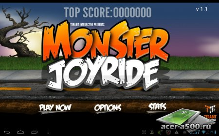Monster Joyride версия 1.0
