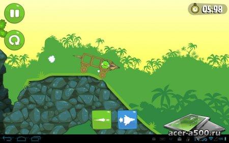 Bad Piggies HD v1.9.1 [мод много усилений]