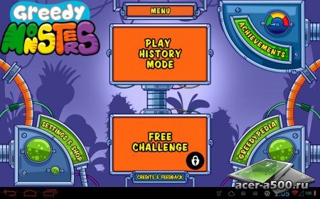 Greedy Monsters версия 1.0