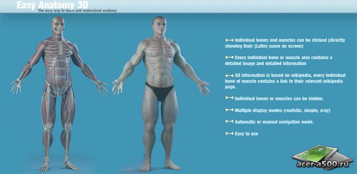 Easy Anatomy 3D(learn anatomy)