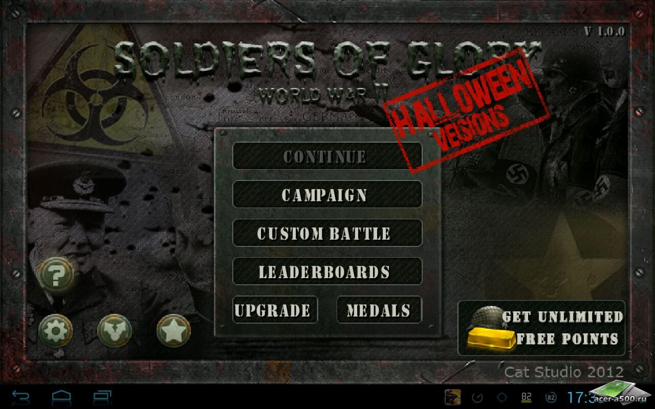soldiers of glory для android