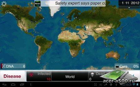 Plague Inc. (Full) v1.10.1 [русская версия]
