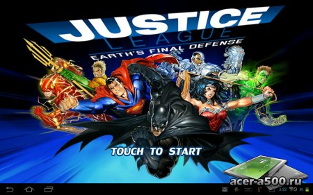 Justice League:EFD (обновлено до версии 1.0.2)