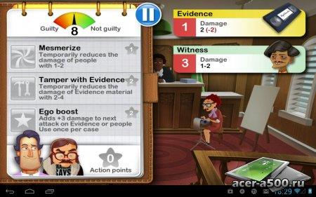 "Игра ""Devil's Attorney"" для планшетов на Android"