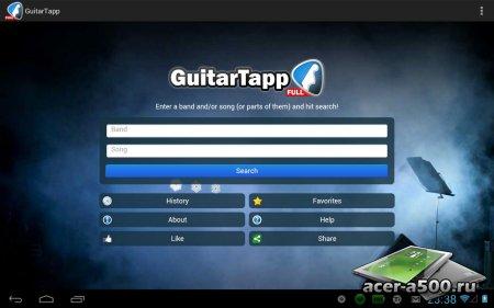 GuitarTapp PRO - Tabs & Chords (обновлено до версии 2.8.9)