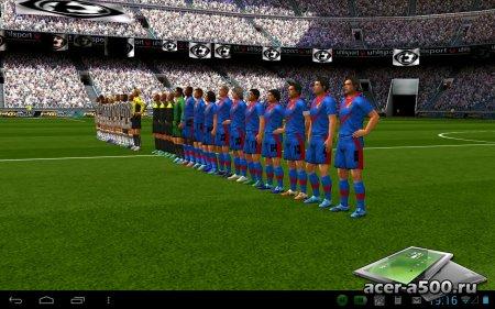 Реальный футбол 2013 (Real Football 2013) v1.6.1d [свободные покупки]