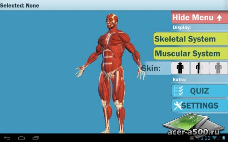Easy Anatomy 3D(learn anatomy) версия 4.0