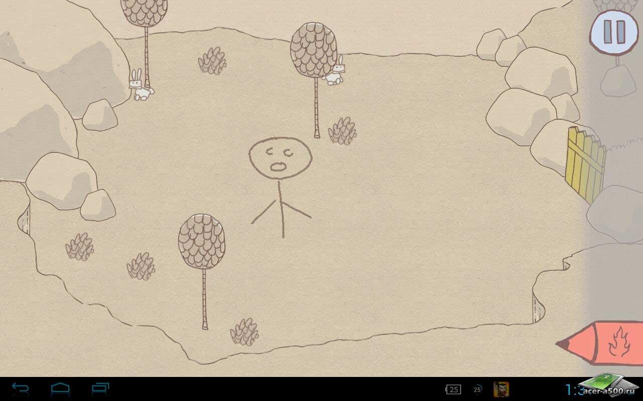 игры анимация рисовать и оживлять человечков стоял перед