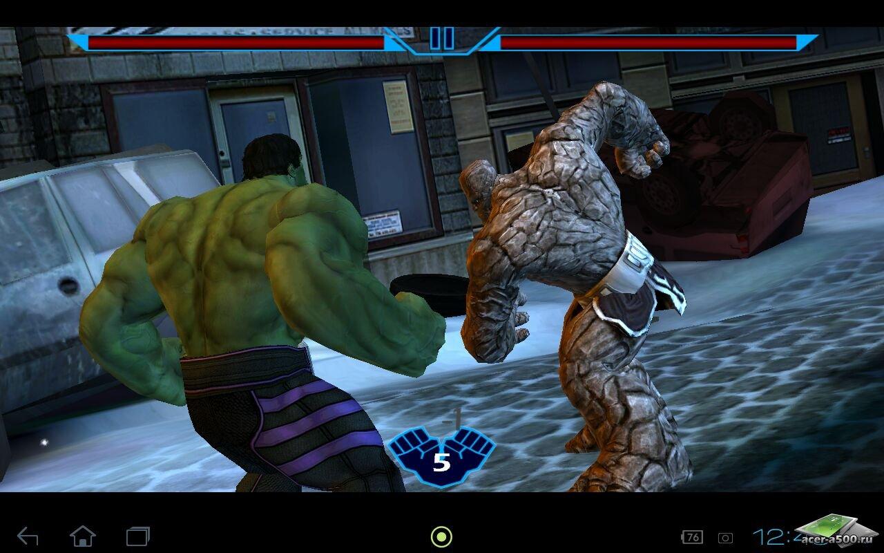 Халк на Андроид скачать - игра Hulk