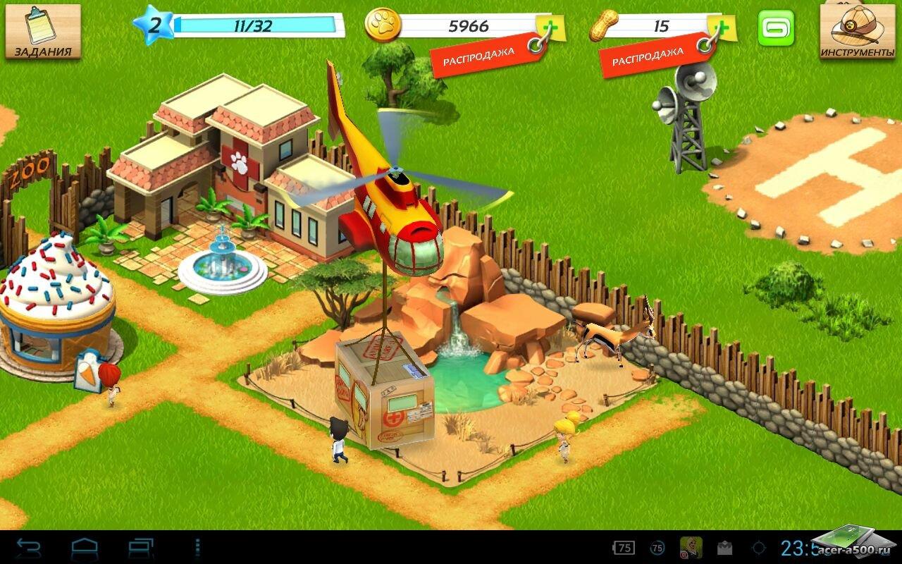 """Игра """"Wonder Zoo - Animal rescue!"""" для планшетов на Android"""