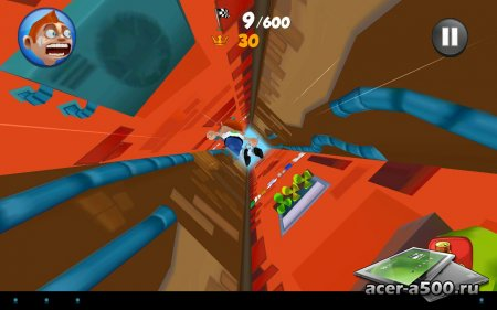 Super Falling Fred версия 1.0.0