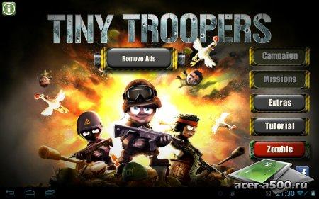 Tiny Troopers версия 1.0.4