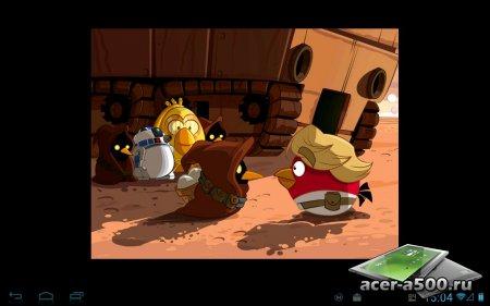 Angry Birds Star Wars HD v1.5.0 [свободные покупки]