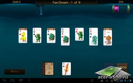Faerie Solitaire HD (Full) версия 1.0