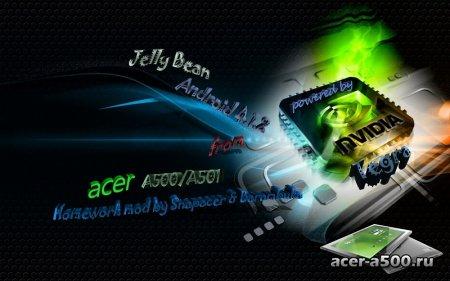 Прошивка Homework Mod V9.1 Для Acer A500/A501 от Snapacer & Barambuka с android 4.1.2 (Добавлены некоторые новшества)
