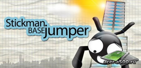 Stickman Base Jumper (Free)