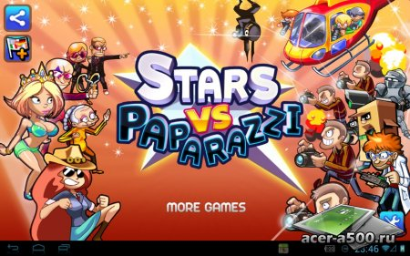 Stars vs. Paparazzi (обновлено до версии 1.0.7)