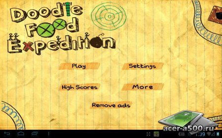 Doodle Food Expedition (обновлено до версии 2.2) [мод]