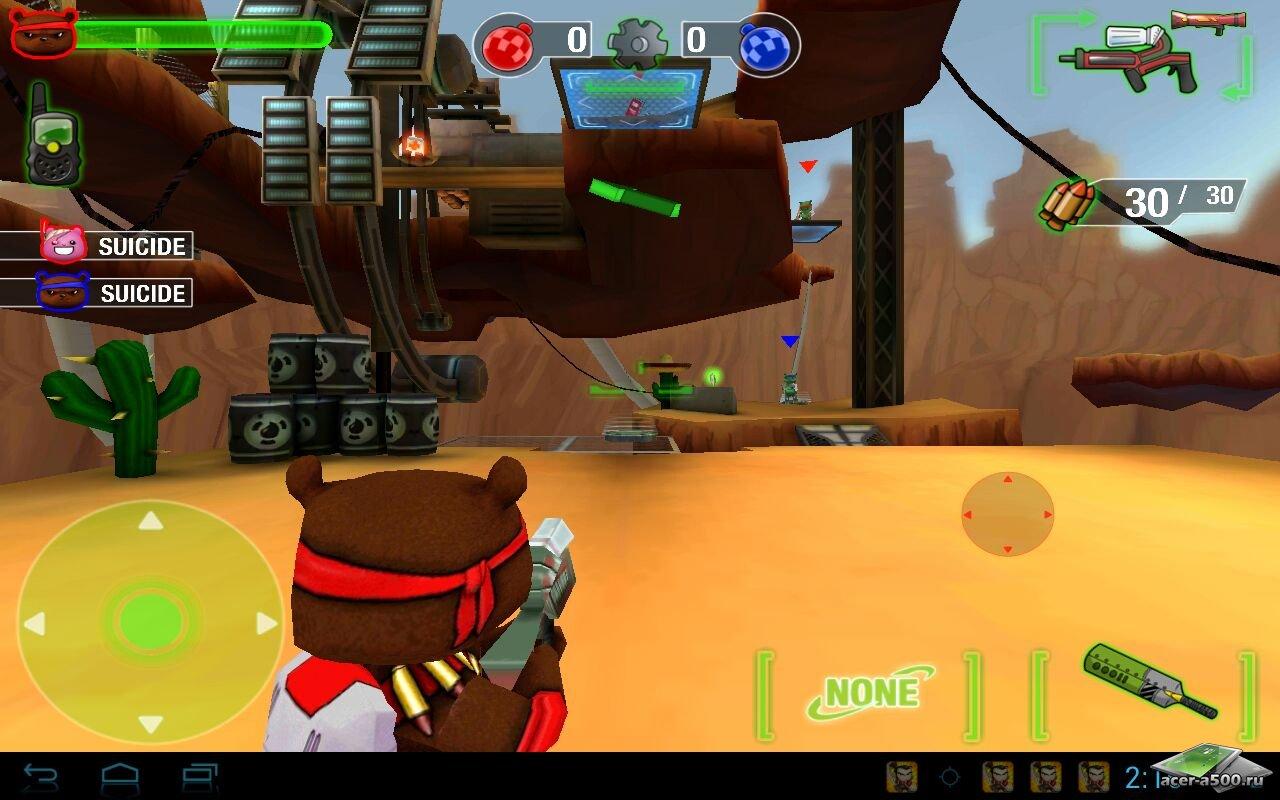 "Игра ""Battle Bears Royale"" для планшетов на Android"