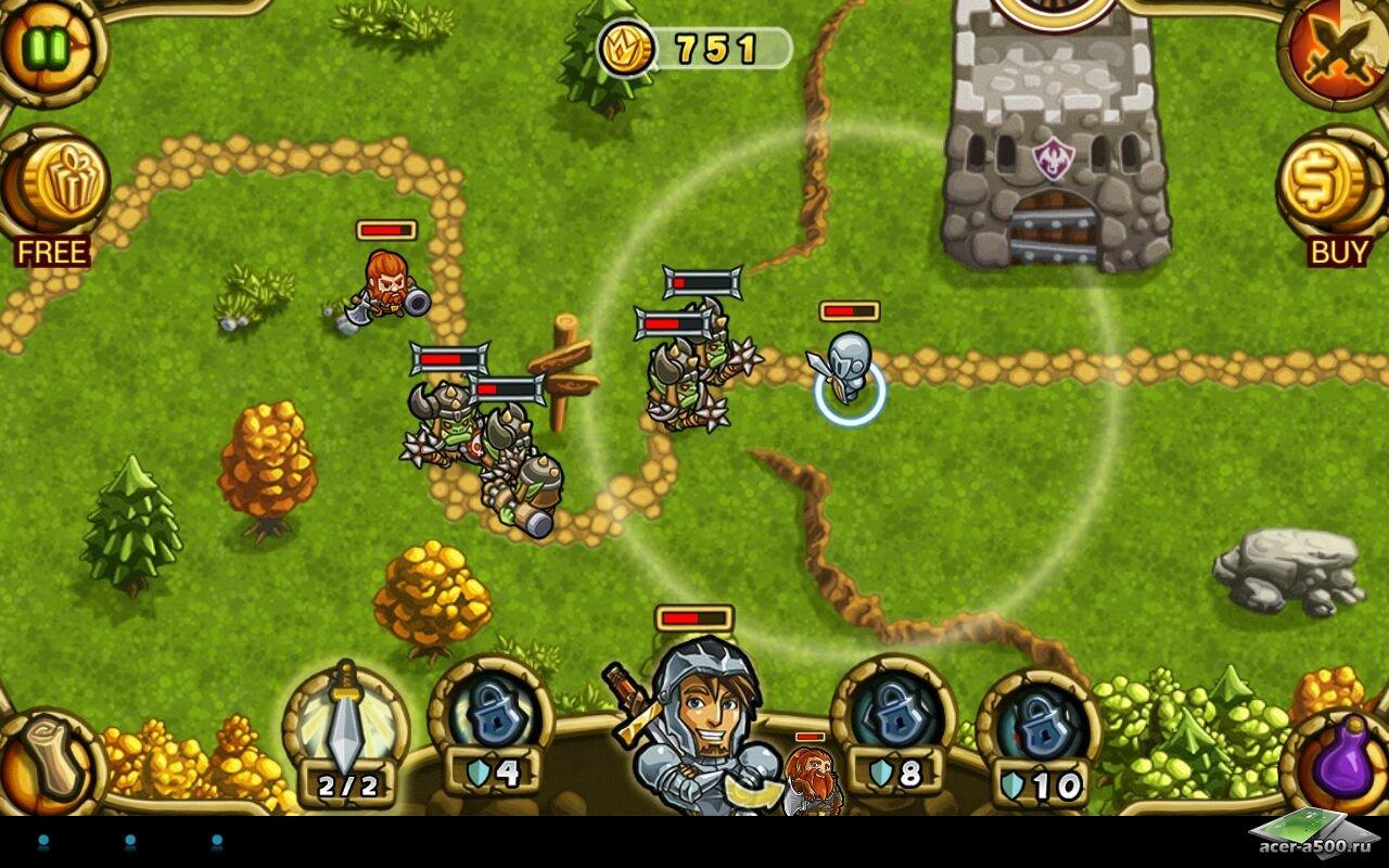"""Игра """"Guns'n'Glory Heroes Premium"""" для планшетов на Android"""