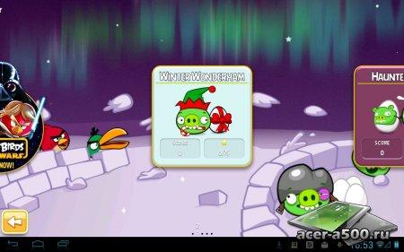 Angry Birds Seasons: Abra-Ca-Bacon! (обновлено до версии 3.3.0) [свободные покупки]