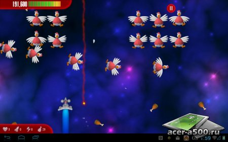 Chicken Invaders 3 Xmas версия 1.08ggl