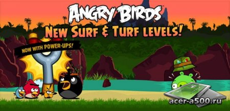 Angry Birds: Surf and Turf (��������� �� ������ 3.0.0) [��� �������] [��������� �������]