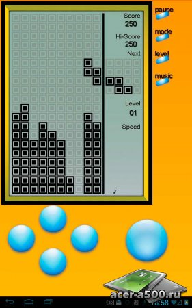 Brick Game - Retro Type Tetris версия 3.0