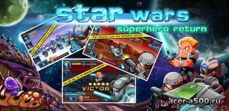 star wars:superhero return