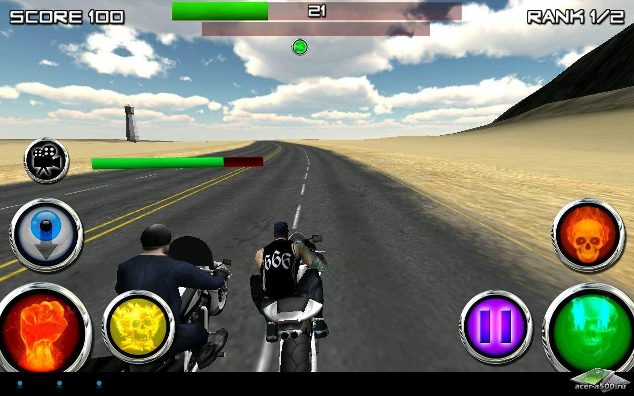Игра race stunt fight 2 для планшетов на