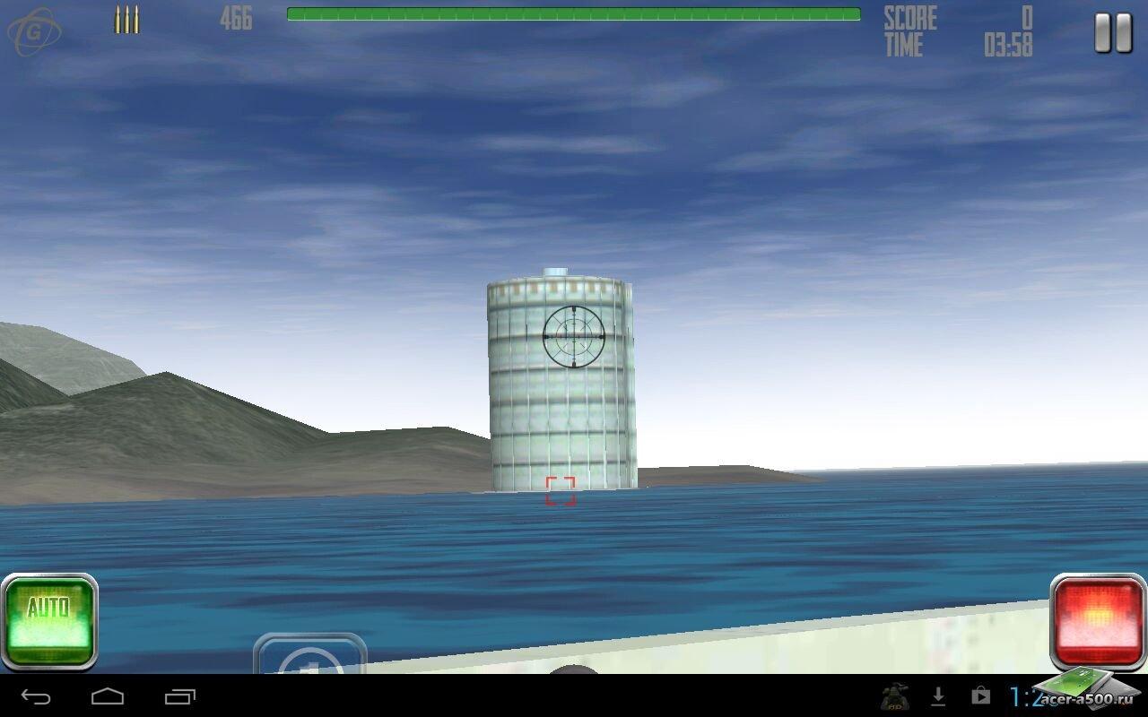 "Игра ""Battleship Destroyer"" для планшетов на Android"