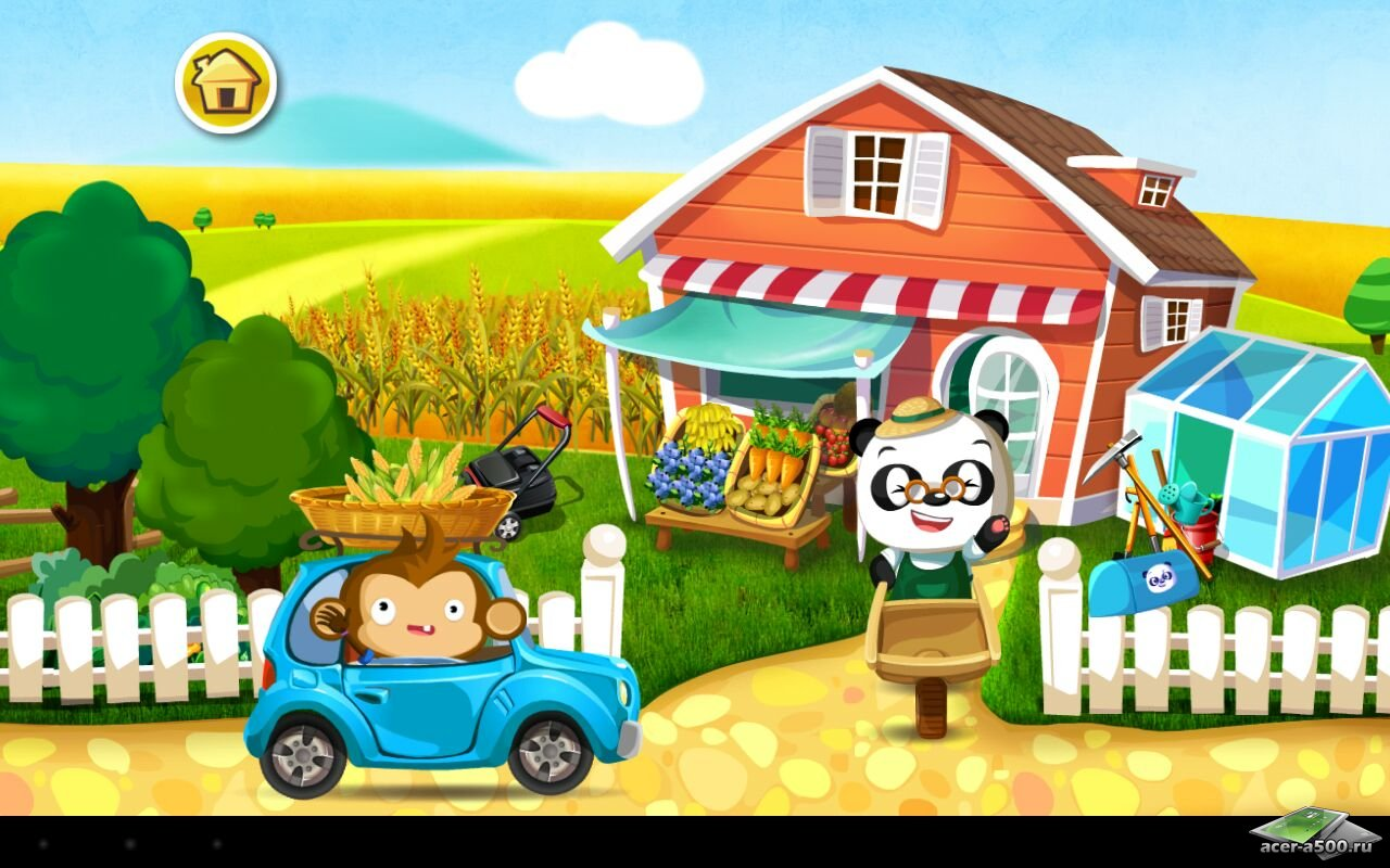 "Игра ""Dr. Panda's Veggie Garden"" для планшетов на Android"