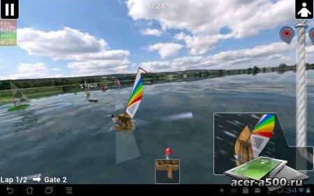 Top Sailor sailing simulator версия 5.8