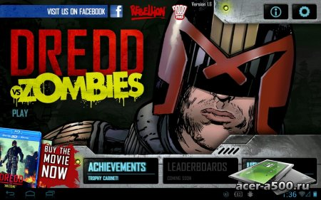 Judge Dredd vs. Zombies версия 1.6