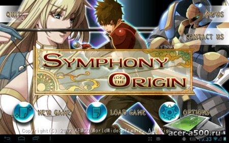 RPG Symphony of the Origin версия 1.0.3g (обновлено) [свободные покупки]