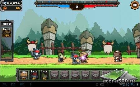 Cat War2 (обновлено до версии 1.7) [свободные покупки]