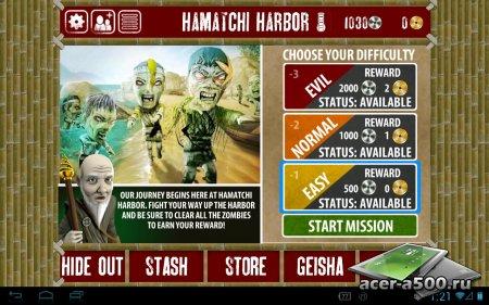 Finger Ninjas: Zombie Strike-Force (обновлено до версии 1.5)