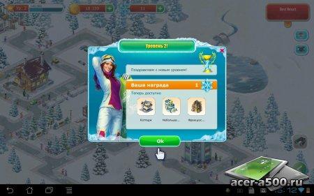 Горный курорт: построй город (Ski Park) (обновлено до версии 1.18.0)