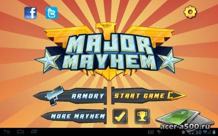Major Mayhem версия 1.0.1 (обновлено)