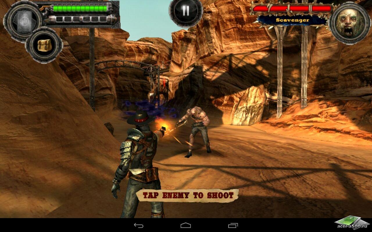 "Игра ""Bladeslinger"" для планшетов на Android"