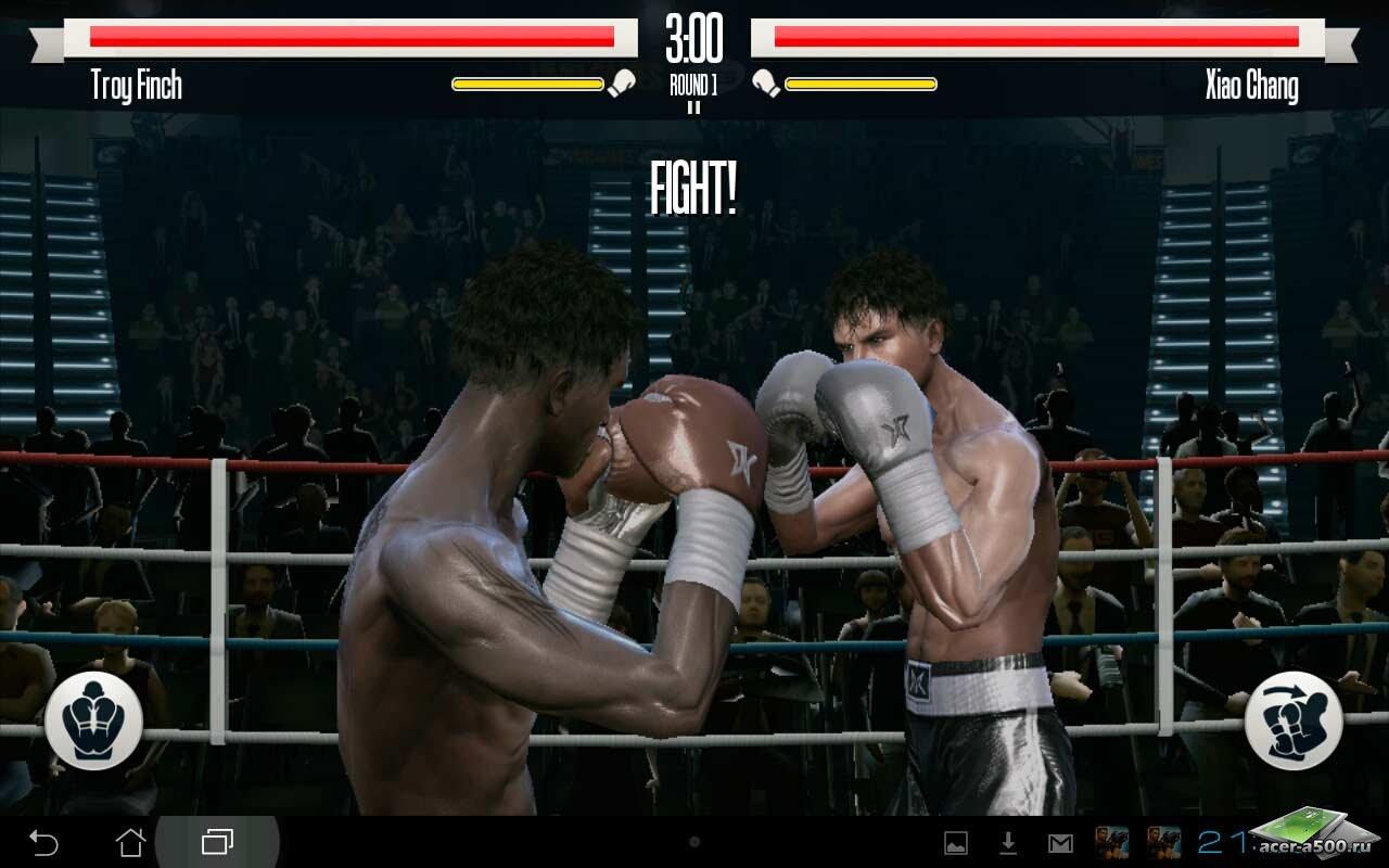 """Игра """"Real Boxing™"""" для планшетов на Android"""