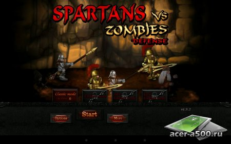 Spartans vs Zombies defense HD версия 1.3.2