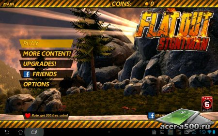 Flatout - Stuntman (обновлено до версии 1.06)