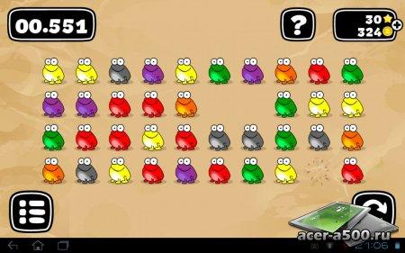 Tap the frog: Doodle версия 1.6