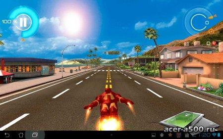 Железный Человек 3 (Iron Man 3 - The Official Game) v1.6.9g [мод свободные покупки]