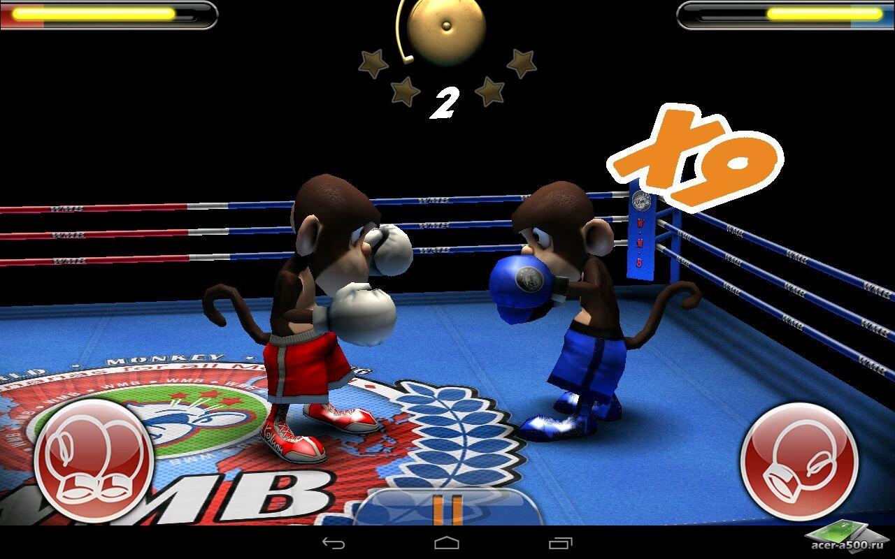 """Игра """"Monkey Boxing"""" для планшетов на Android"""