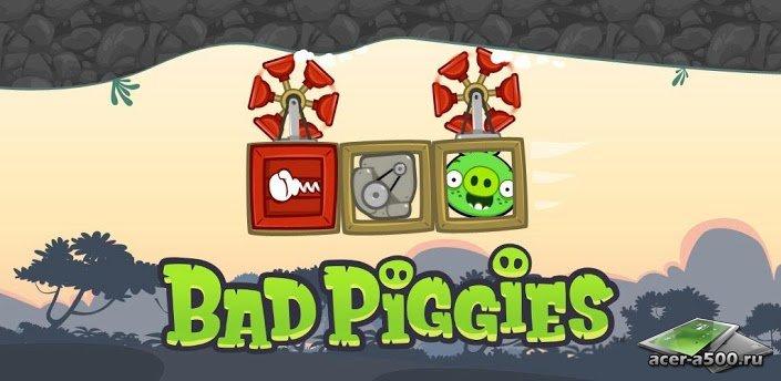 скачать игру bad piggies на телефон много мод много денег